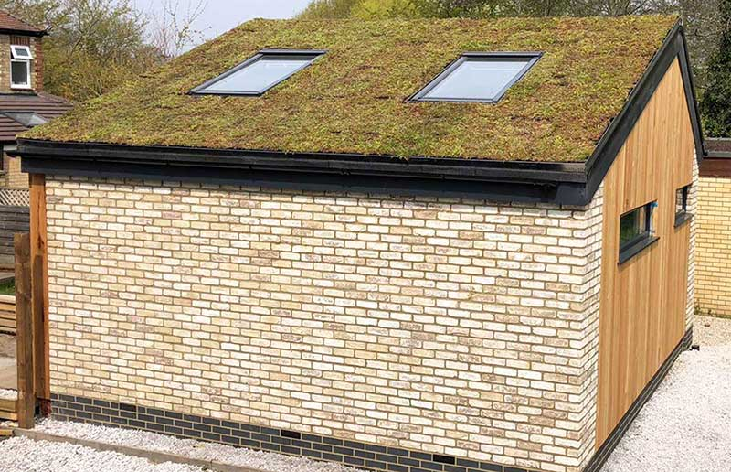 Green Roof Studio Space