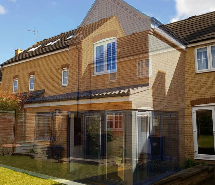 Maskell Drive, Bedford – Rear Extension